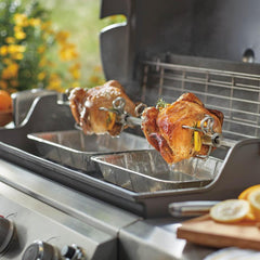 Weber 7653 Rotisserie Kit For Genesis II 4B & 6B Gas Grills