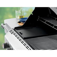 Weber 7404 Cast Iron Summit Reversible BBQ Griddle