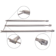 Weber 7508 Stainless Steel Grill Burner Tube Set For Weber Gas Grills - 4-Pieces