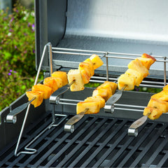 Weber 7618 Stainless Steel BBQ Skewers - 4-Pieces