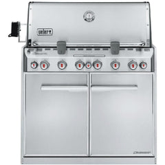 Weber Summit S-660 Built-In Natural Gas Grill With Rotisserie & Sear Burner