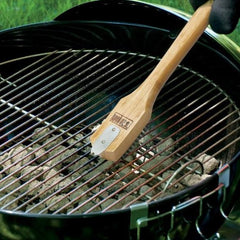Weber 6463 Bamboo Grill Brush & Scraper With 12-Inch Handle