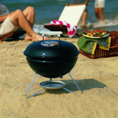 Weber Smokey Joe 14-Inch Portable Charcoal Grill - Black