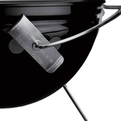 Weber Smokey Joe Premium 14-Inch Portable Charcoal Grill - Black