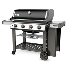 Weber Genesis II SE-410 Special Edition Freestanding Propane Gas Grill - Black