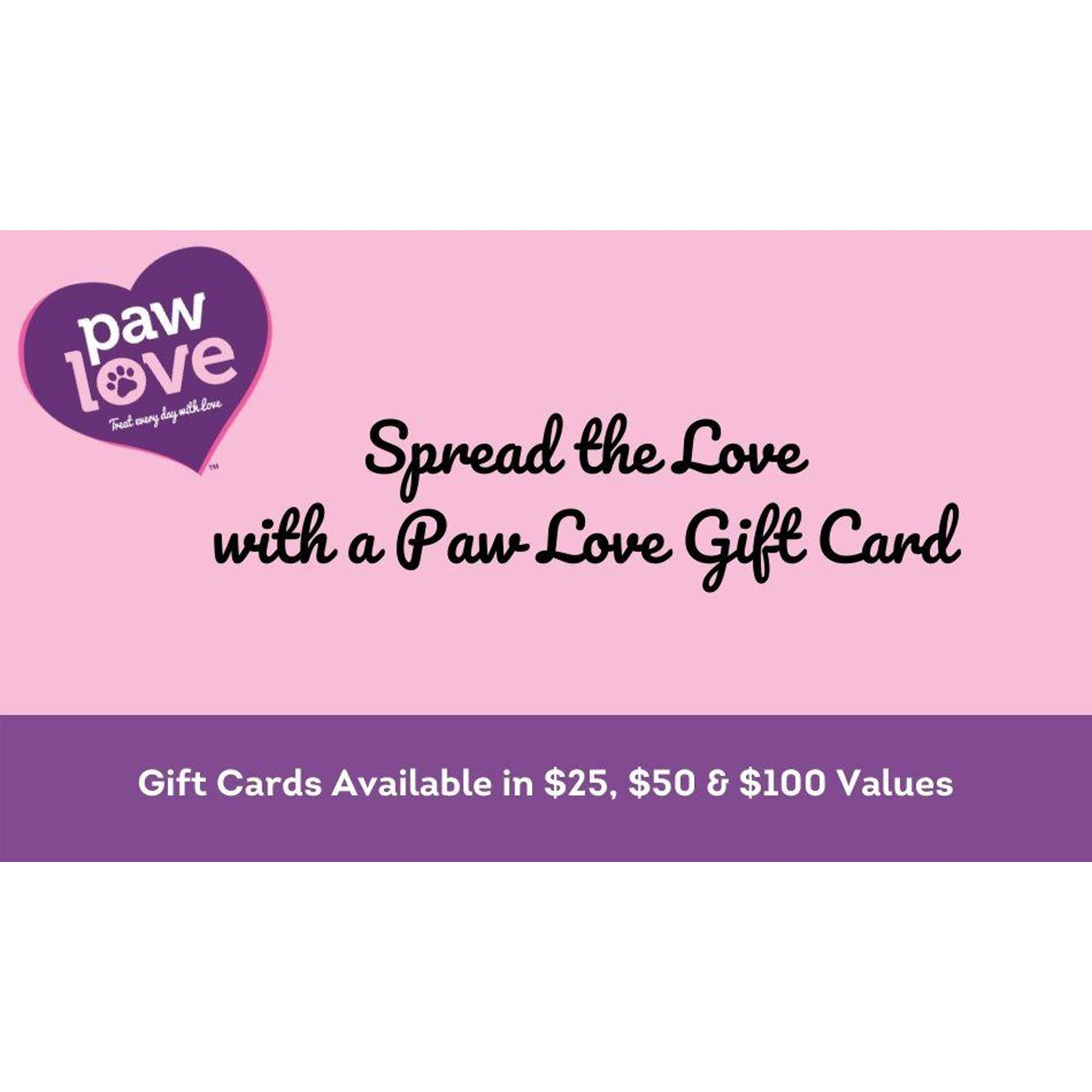 Paw Love Gift Card