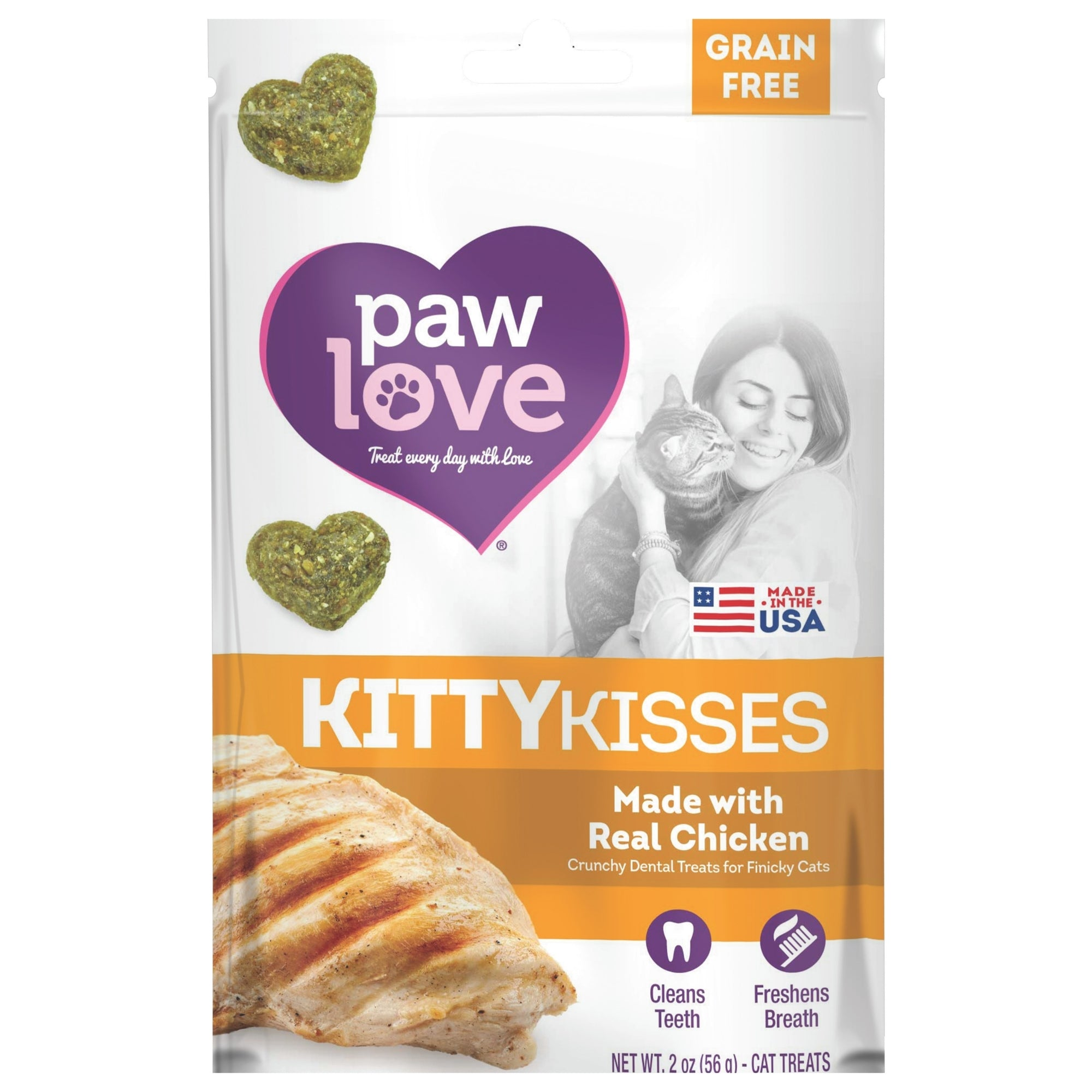 Chicken Kitty Kisses 2 Pack