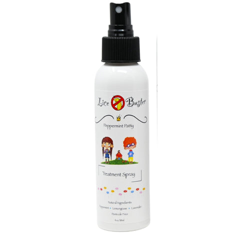 4oz bottle of lice buster head lice treatment shampoo All natural pesticide free non toxic lice treatment. The most effective head lice treatment spray
