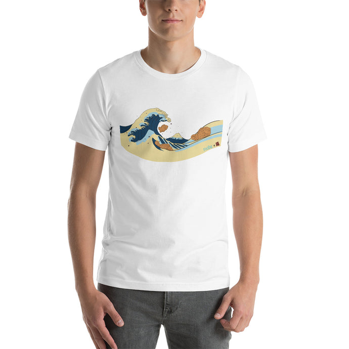 Wave Short-Sleeve Unisex T-Shirt