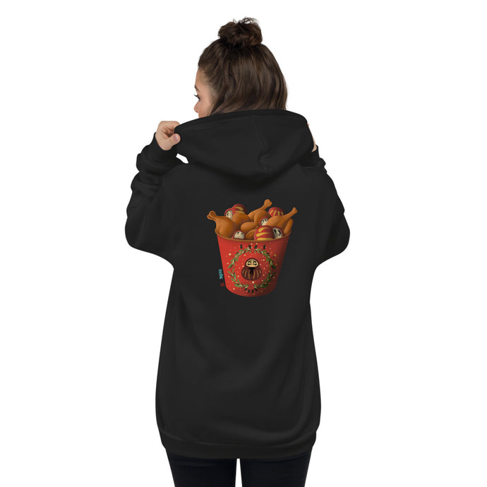 Winter Bucket Hoodie Sweater - Back Print