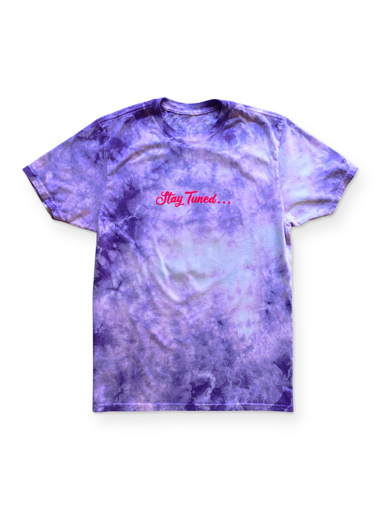 Goat Fam LA Merch - Night Sky Purple Dye Tee