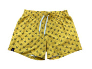 Gavin Magnus Line Gold Yellow Pattern Shorts Merch