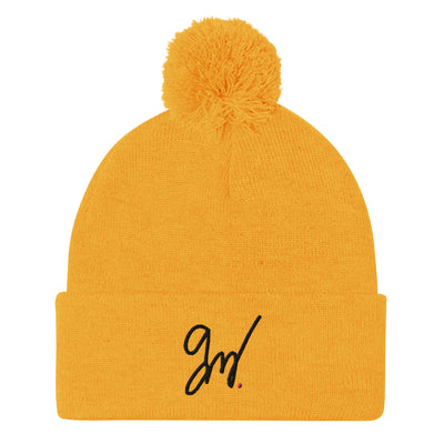 Gavin Magnus Merch - Signature Gold Beanie