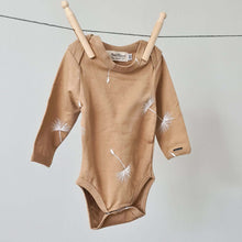 Load image into Gallery viewer, Baby Bodysuit - Long Sleeves - Dandelion