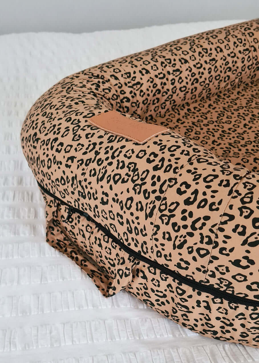 Baby Nest Cover - Leopard