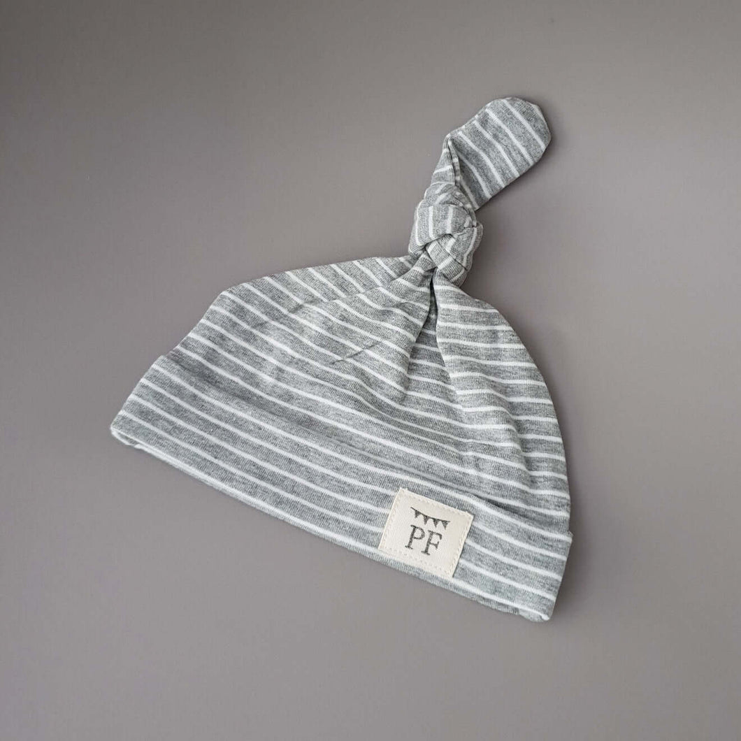 Knot Hat - Grey