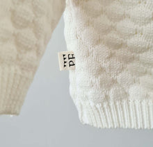 Load image into Gallery viewer, Knitted Sweater - Cotton - Ivory