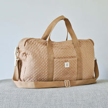 Afbeelding in Gallery-weergave laden, Quilted Mommy Bag - Beige