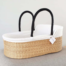 Load image into Gallery viewer, Cotton Moses Basket Liner - Off-White