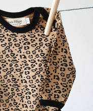 Load image into Gallery viewer, Baby Bodysuit - Long Sleeves - Leopard