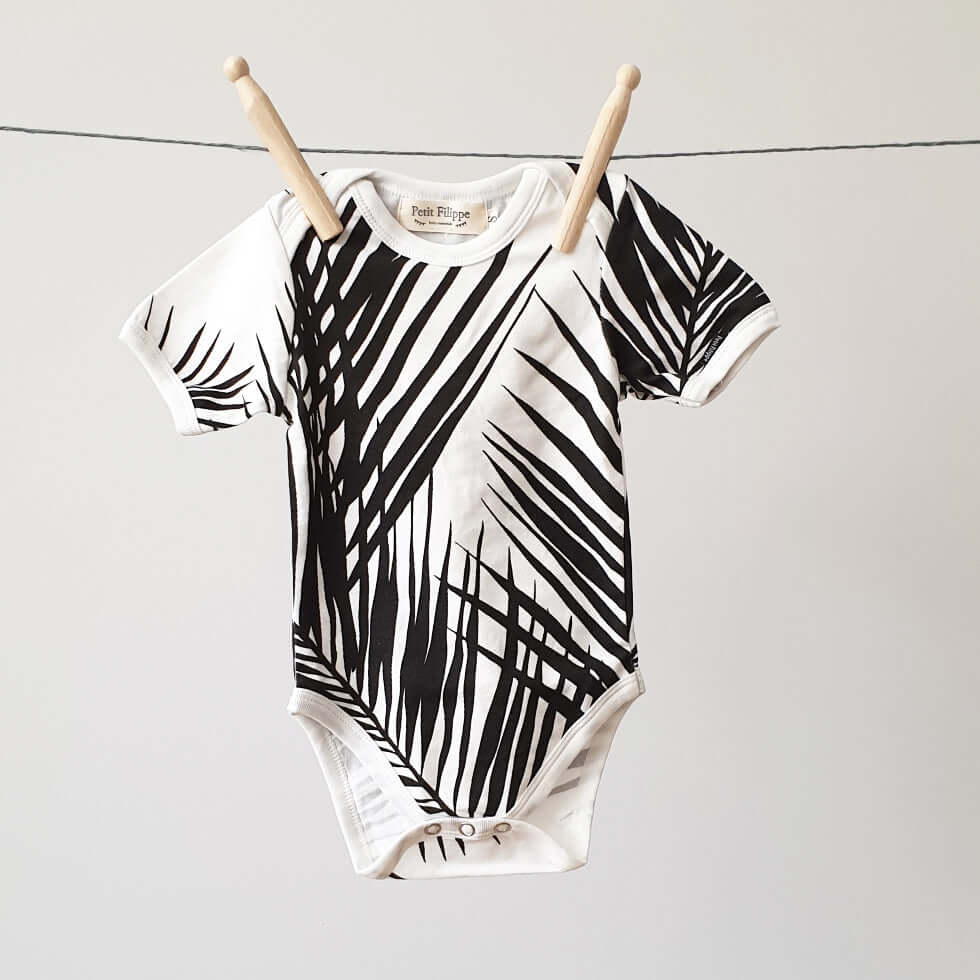 Baby Bodysuit - Short Sleeves - Palm