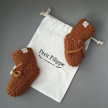 Afbeelding in Gallery-weergave laden, Baby - Knitted Booties - Brick