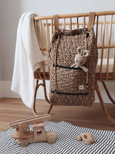 Load image into Gallery viewer, Quilted Storage Bag - Leopard
