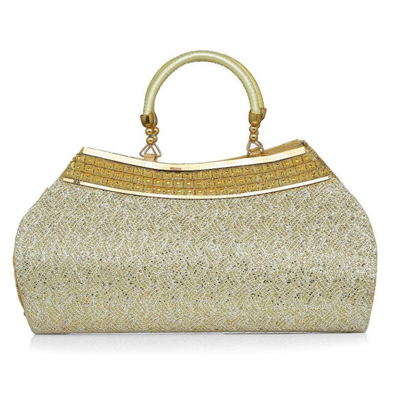 Clutch In Golden Colour