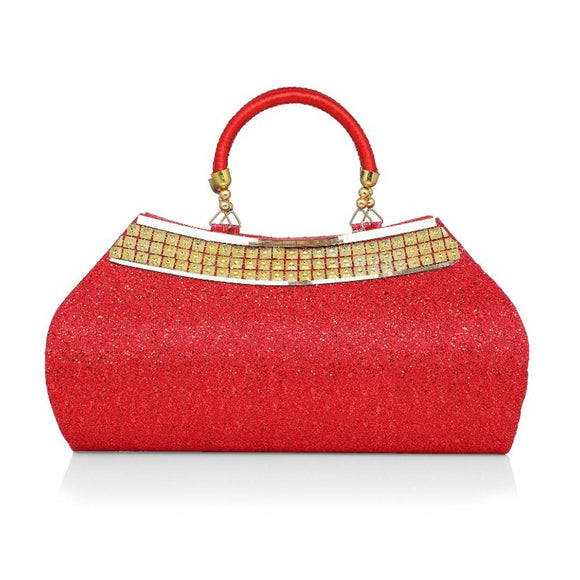 Clutch In Red Colour