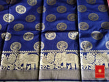 Tranoli Art Silk Woven Design Saree With Blouse Piece