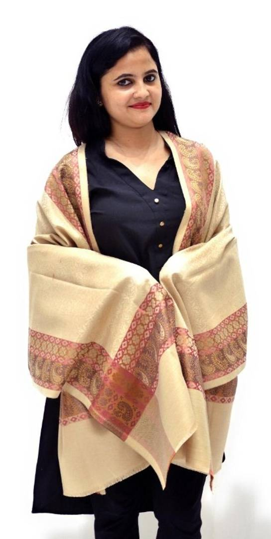 Elegant Polyester Winter Shawl For Women