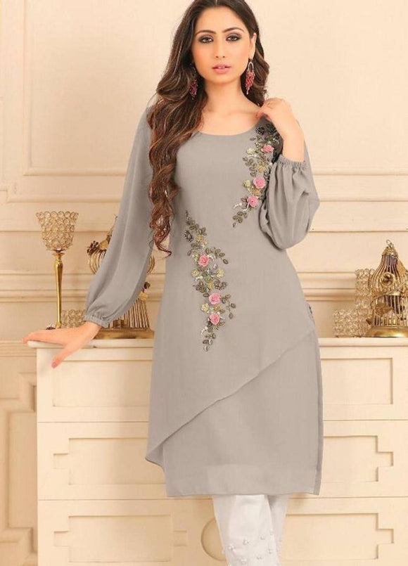 Attractive Kurti With Pant
