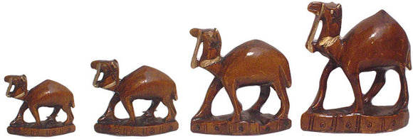Crafts of India : Camel Family in Antique Finish