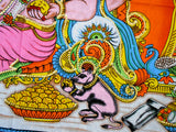 "Crafts of India Ganesha/Ganpati Religious Cotton Wall Hanging Tapestry : Size 43""x30"" Inches"