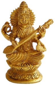 Crafts of India : Goddess of Knowledge Goddess Saraswati