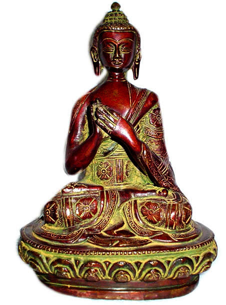 Crafts of India : Antiquated Preaching Buddha