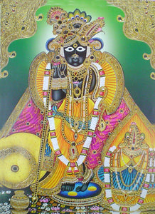 Lord srinath ji poster-reprint on paper-(20x16 inches)