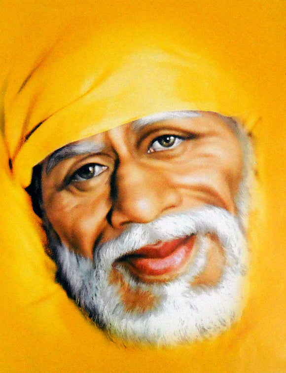 Sai baba poster-reprint on paper-(20x16 inches)