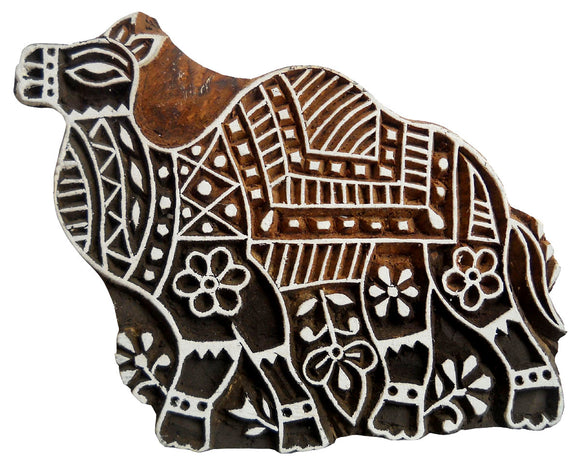 Beautiful Camel Design Wooden Printing Block/Stamp Textile Fabric Printing