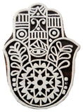 Hand Shaped wooden block stamp/ Tattoo/ Indian Textile Printing Block