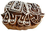 Elephant Shape Wooden Printing Block/Stamp Textile Fabric Printing Apparel India