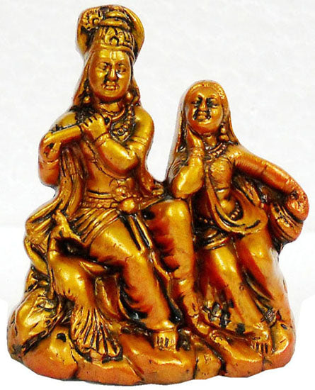 Crafts of India : Terracotta Sculpture Radha Krishna