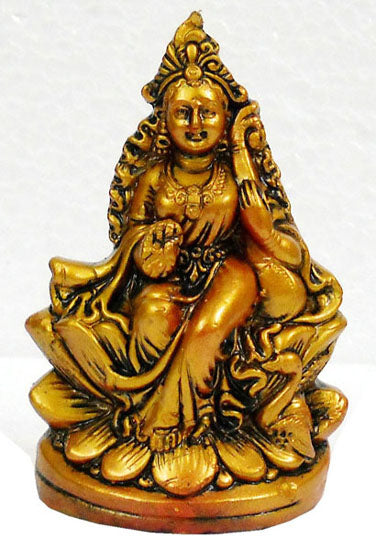 Crafts of India : Terracotta Sculpture Goddess Saraswati
