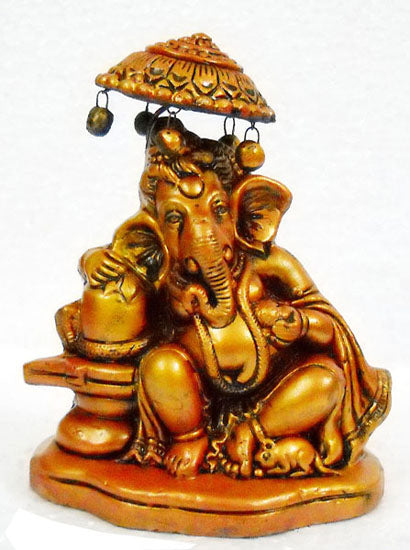 Crafts of India : Terracotta Sculpture Divine Ganesha