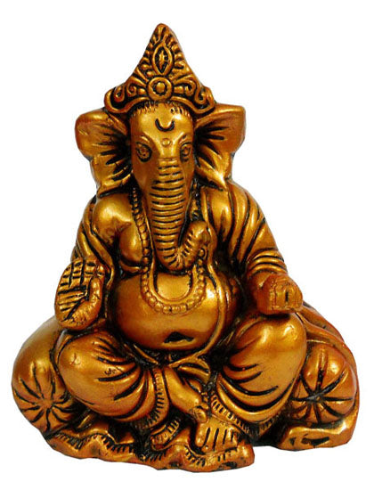 Crafts of India : Terracotta Sculpture Blessing Ganesha