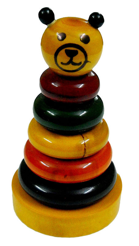 Crafts of India :  Colorful Wooden Rings