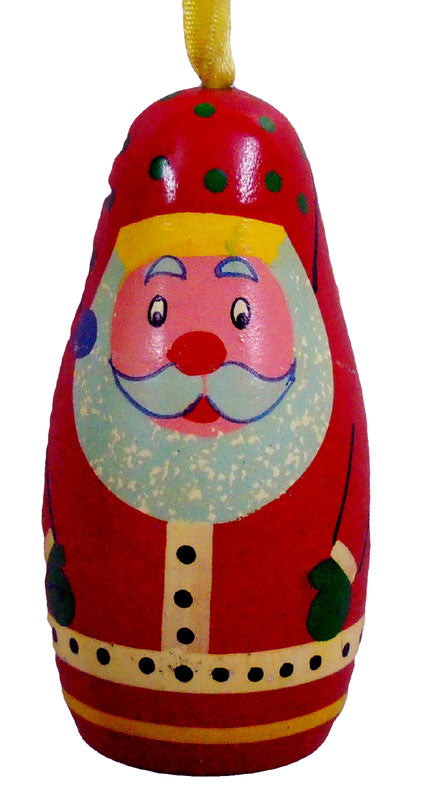Crafts of India : Wooden Santa Claus Wall Hanging