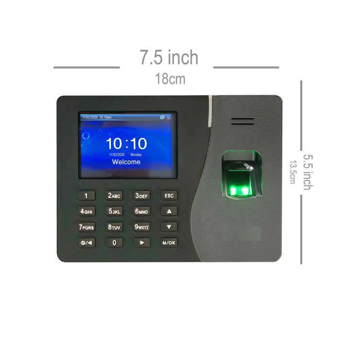 Geotime 1 Biometric fingerprint - TCP/IP Terminal only (no software)