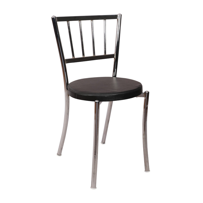 Cafe chair with ss frame