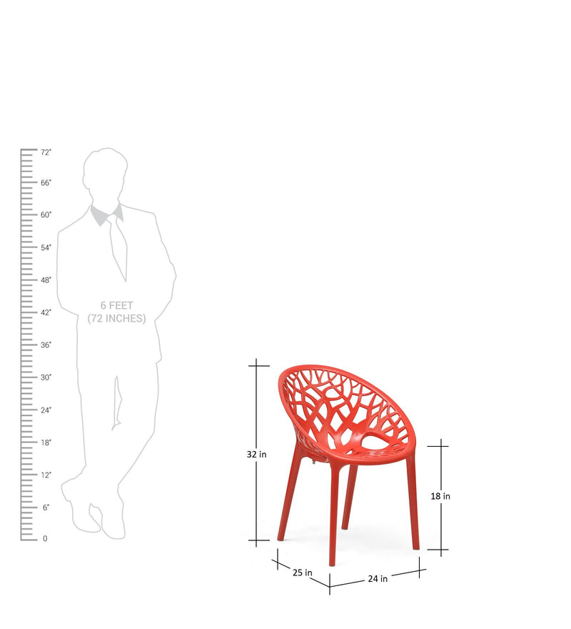 Cafe chair with pp